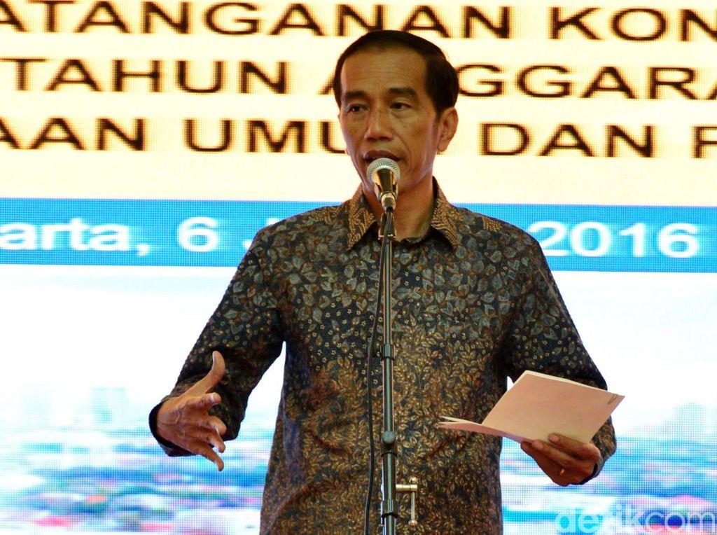 Pak Jokowi, Bangun Infrastruktur Butuh Rp 6.400 Triliun