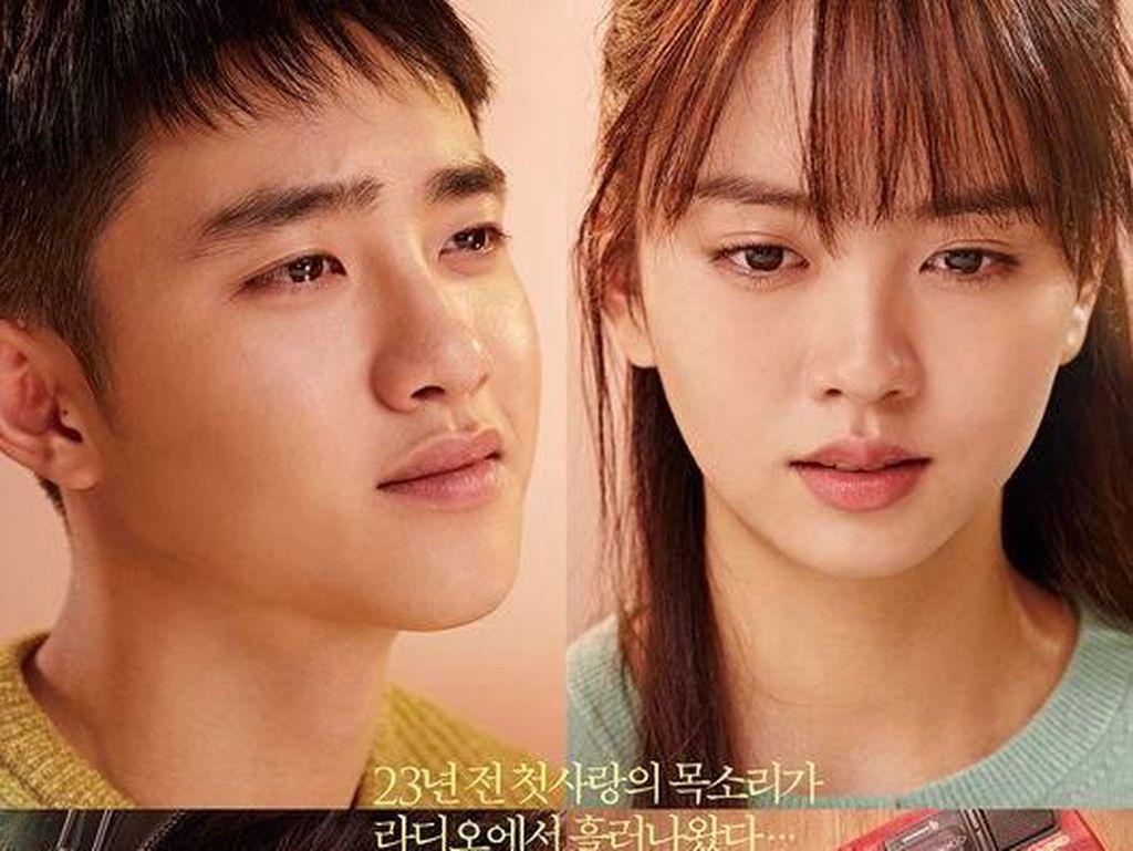 Intip Dua Versi Poster Pure Love D.O EXO dan Kim So Hyun