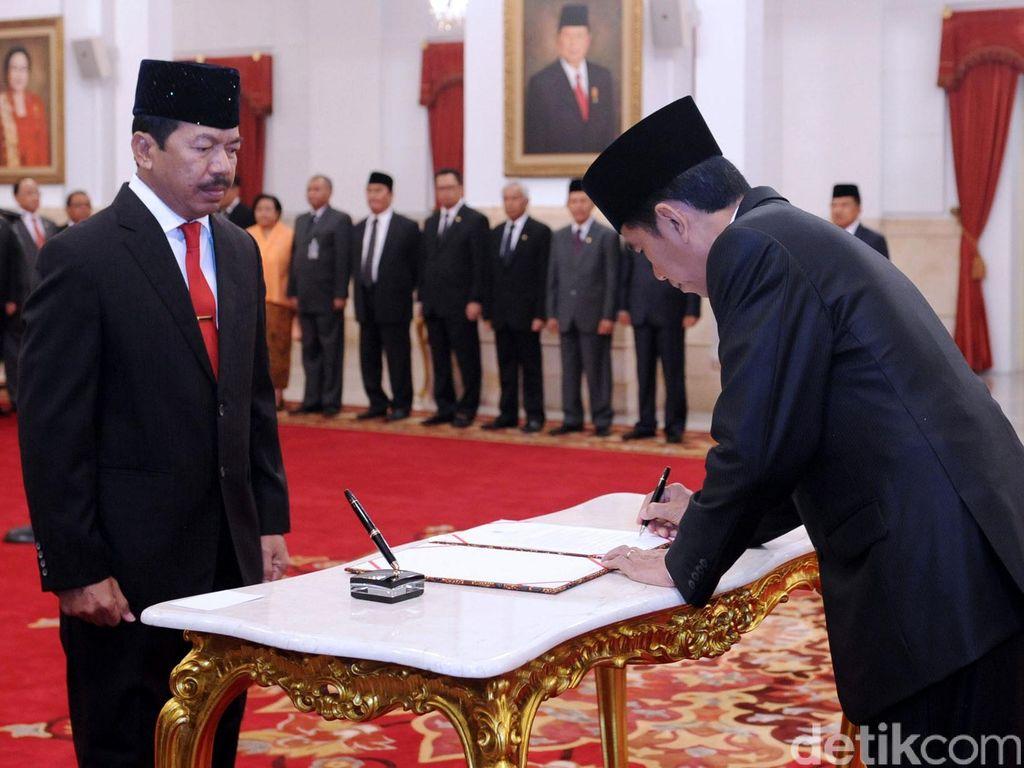 Jokowi Akan Lantik Djoko Setiadi Jadi Kepala Badan Siber