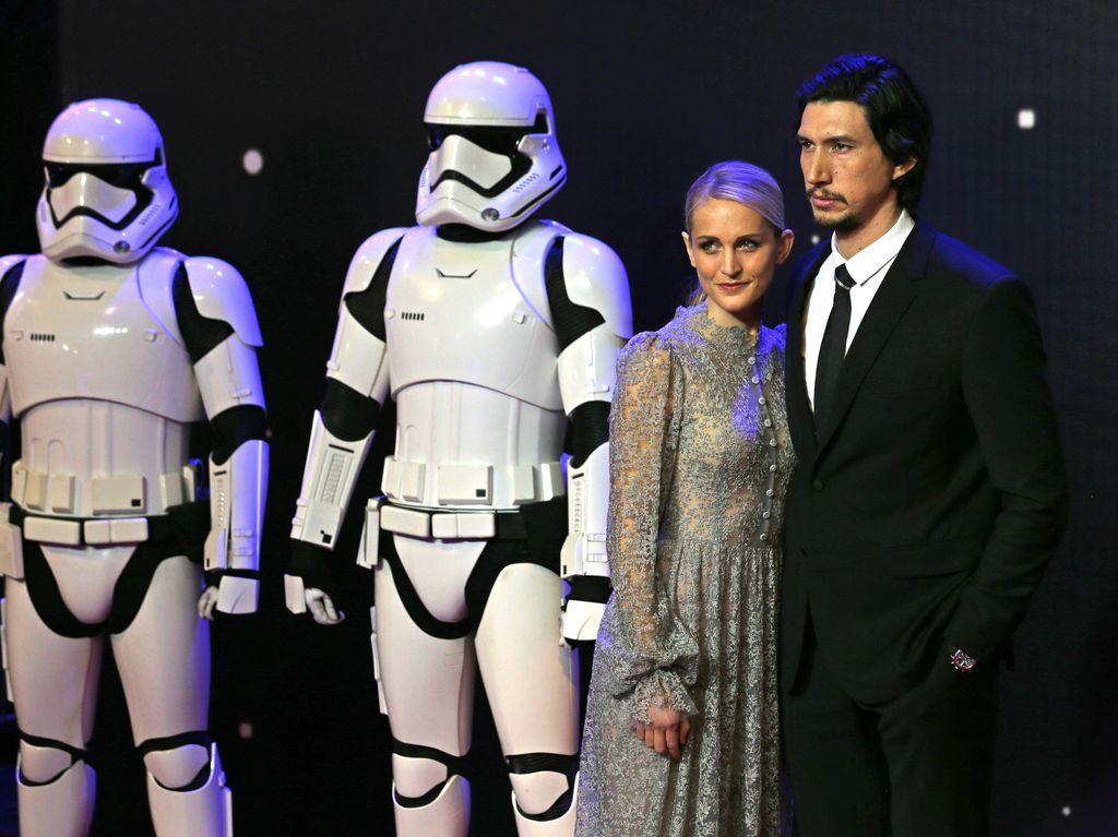 Adam Driver 3 Tahun Sembunyikan Keterlibatan di Star Wars dari Istri