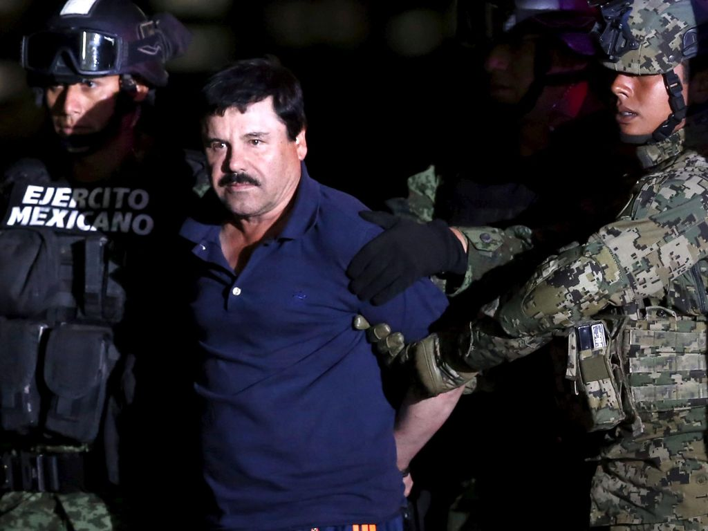 Eks Rekan Sebut El Chapo Cekoki Narkoba dan Perkosa Gadis-gadis