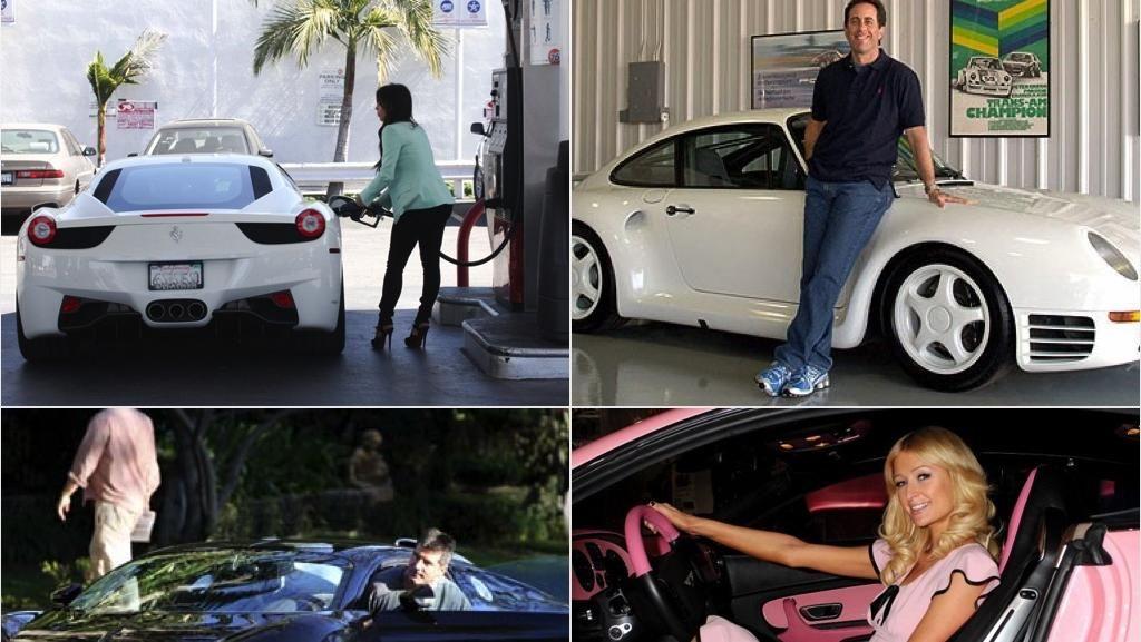 Deretan Mobil Termahal Artis Internasional