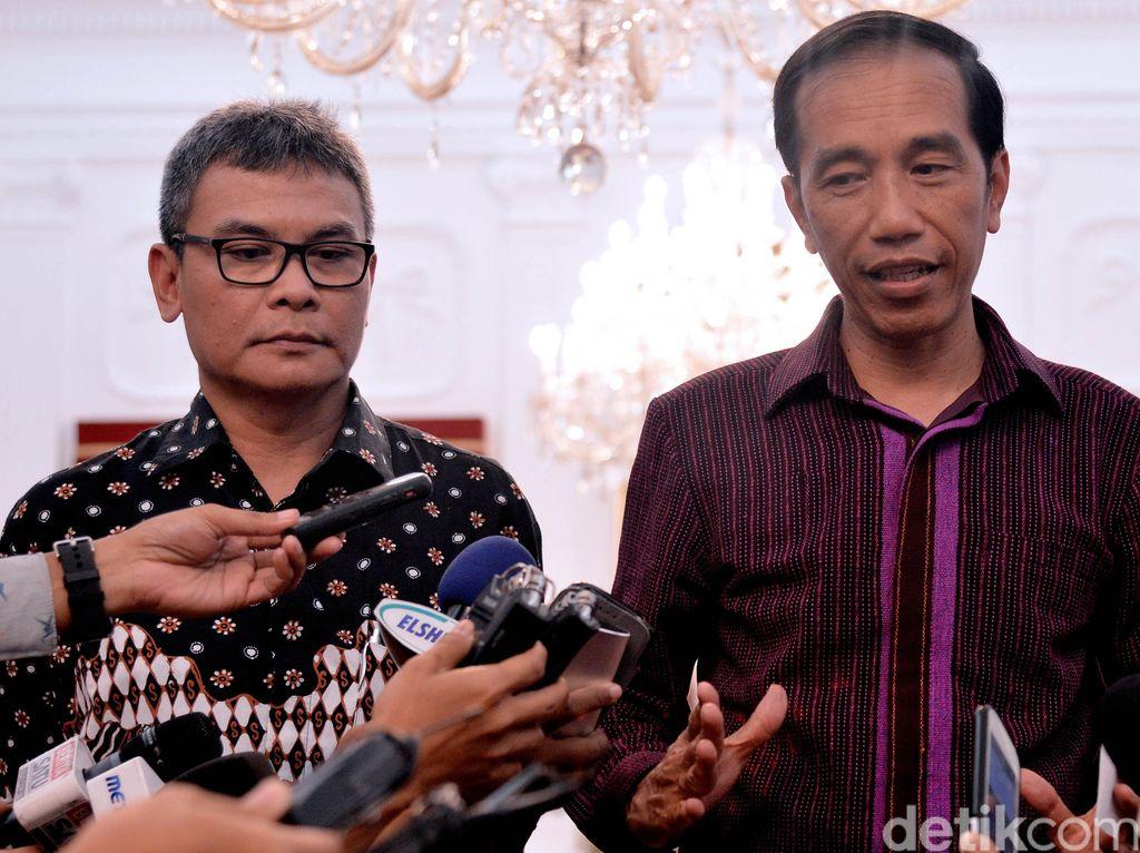 Johan Budi Jadi Jubir Jokowi