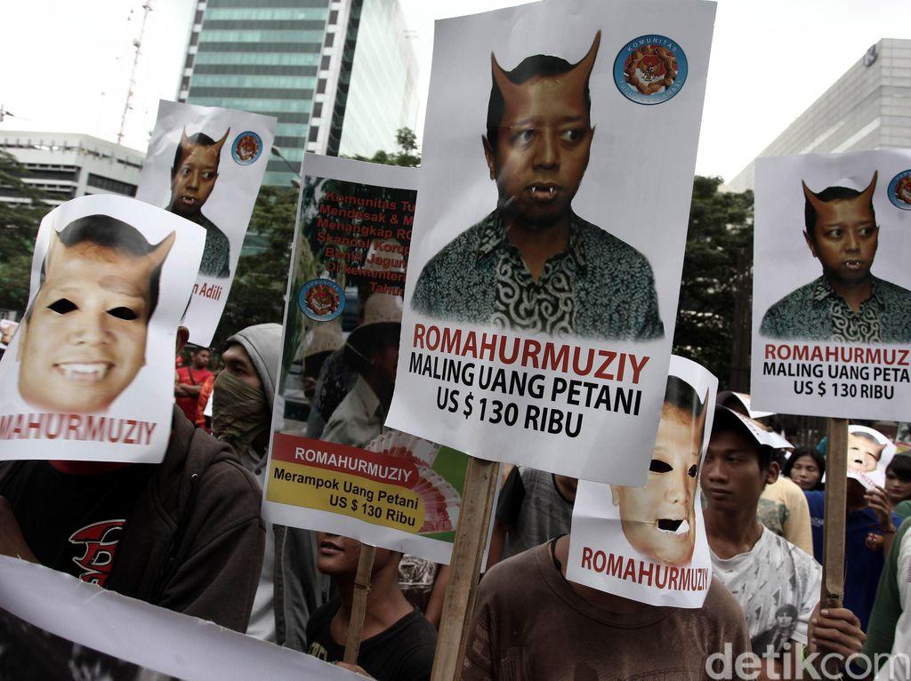 Bawa Keranda dan Tikus, Massa Demo KPK