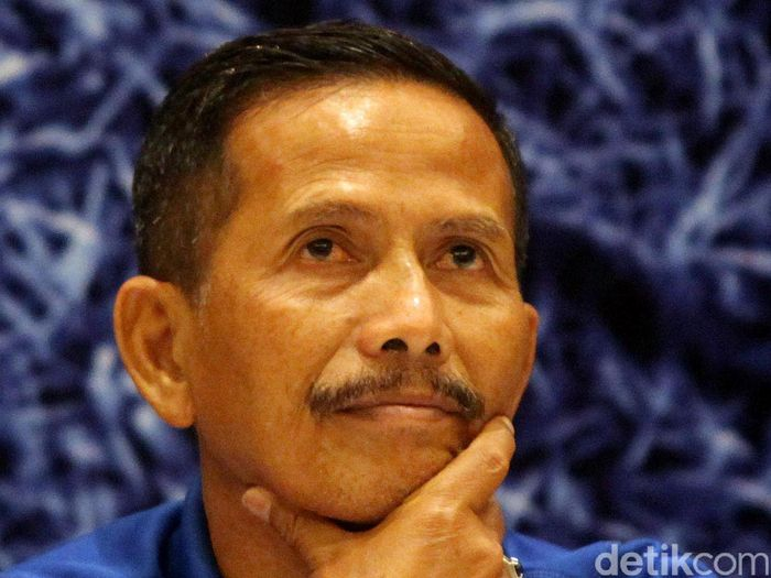 Djadjang Nurdjaman dikabarkan bakal merapat ke Malang United (Rengga Sancaya/Detiksport)