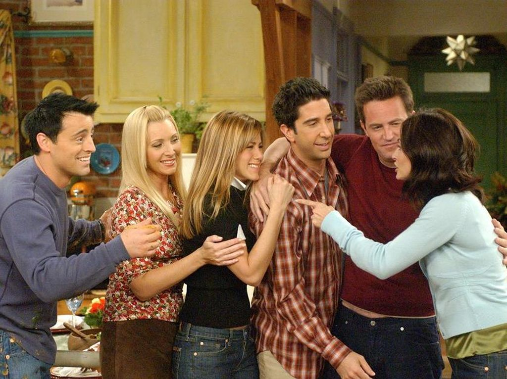 Jennifer Aniston cs Siap Reunian Friends di HBO Max