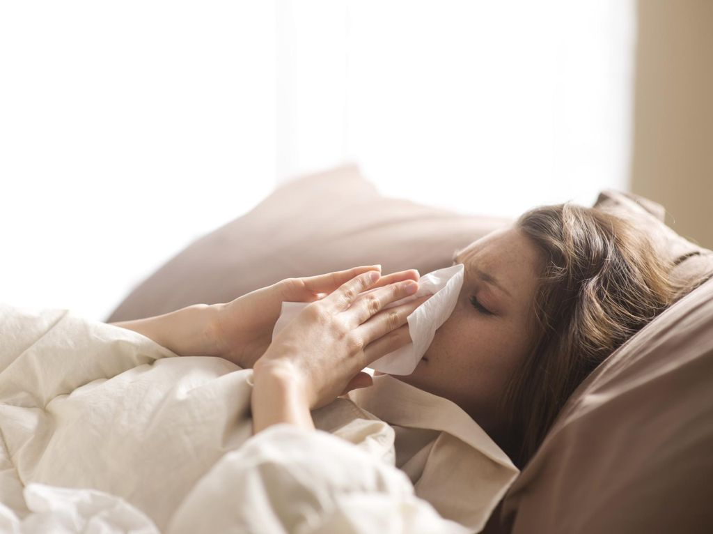 Saran Dokter Paru Agar Flu Berat Tidak Menular