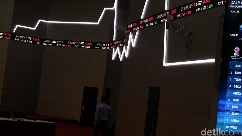 Dana Asing Cabut dari Pasar Modal Bertambah, Siang Ini Rp 257 M