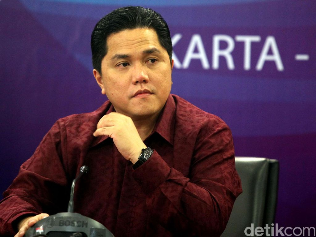 Erick Thohir Pengin Bikin Sub Holding Tampung BUMN Sekarat