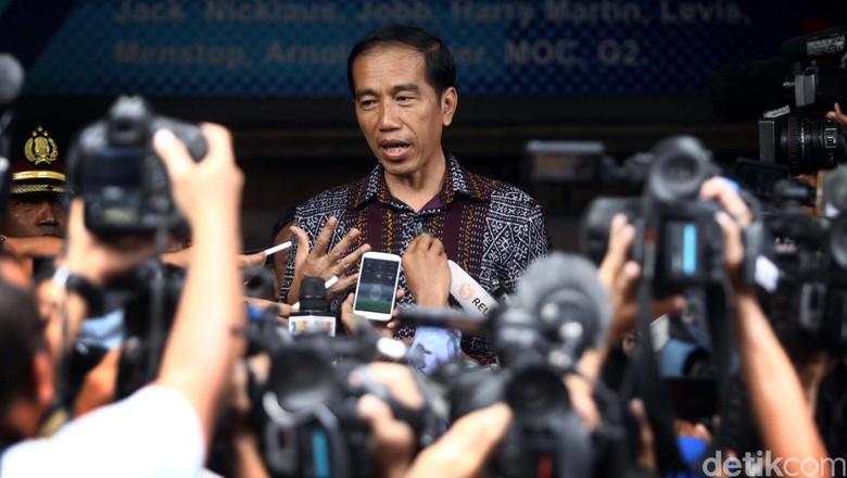 Jokowi: Saya Bangga Rakyat Indonesia Tidak Takut Hadapi Teroris