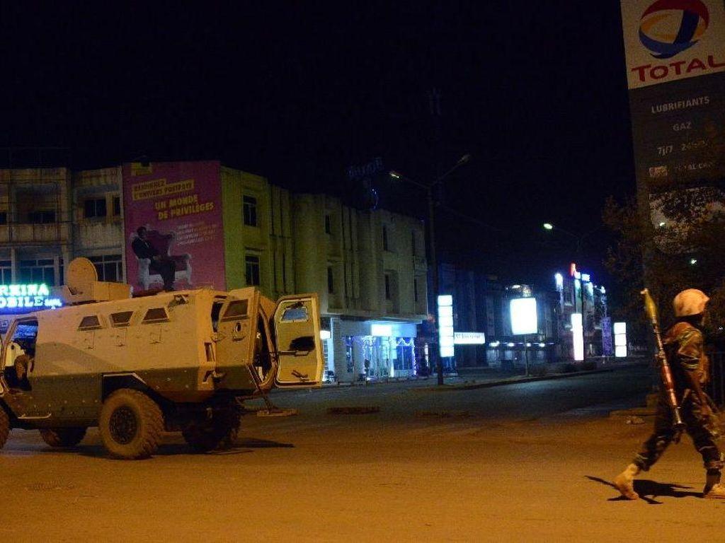 Baku Tembak dan Ledakan di Hotel Burkina Faso, Sejumlah Orang Tewas
