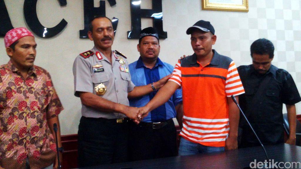 Anggota Raja Rimba di Aceh Menyerah Diri