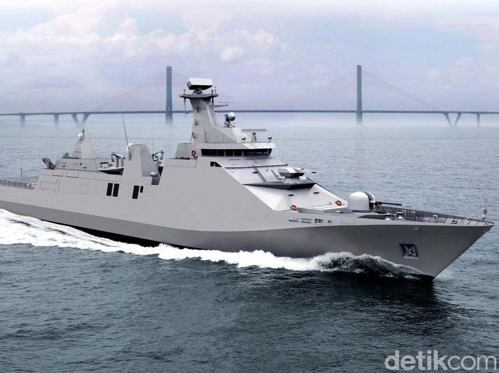 Hebat, BUMN Ini Ekspor Kapal Perang Kedua ke Filipina