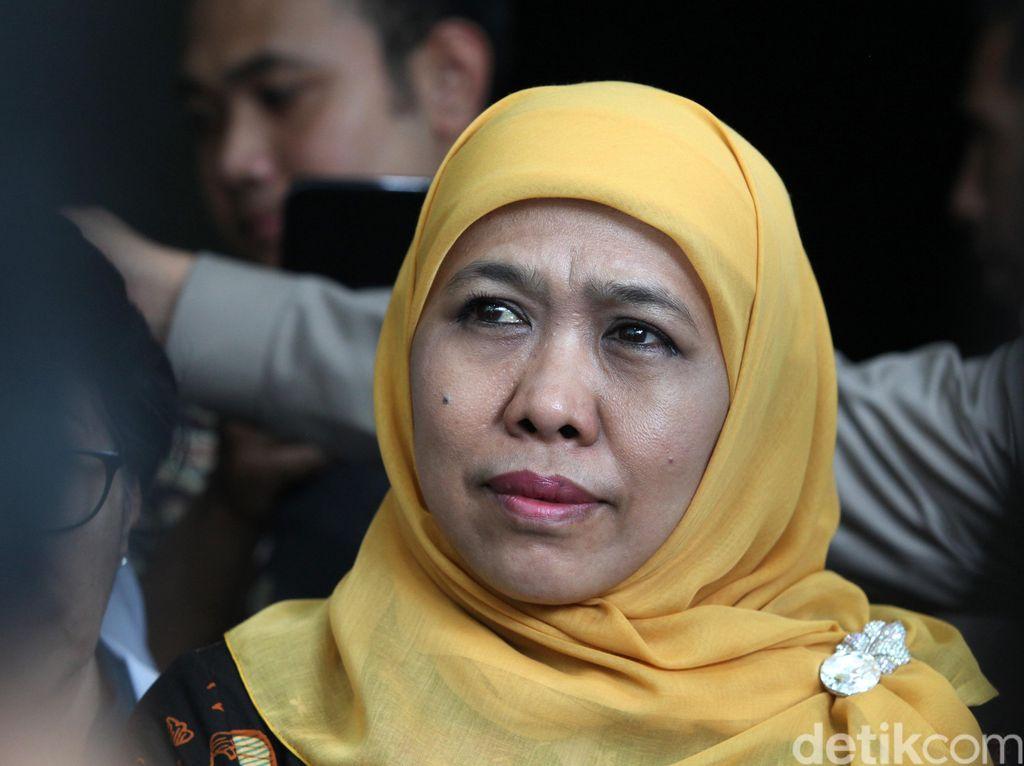 Alasan KPK Periksa Gubernur Jatim Khofifah di Surabaya