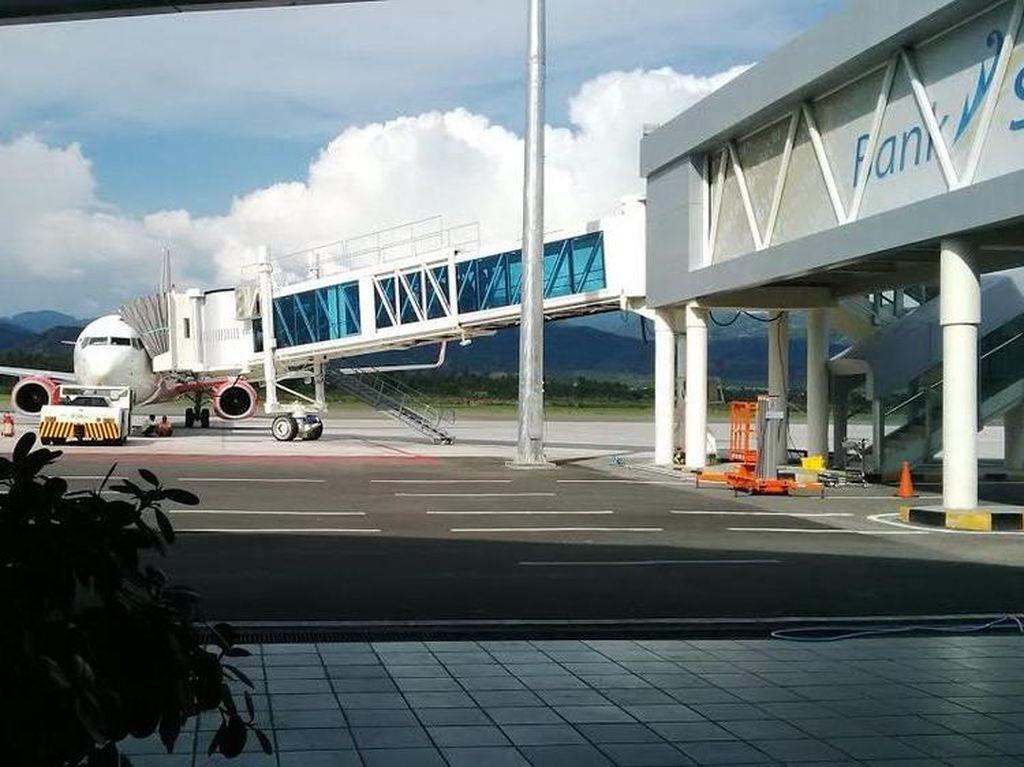 Tower ATC Bandara Palu Rusak, Penerbangan Ditutup!