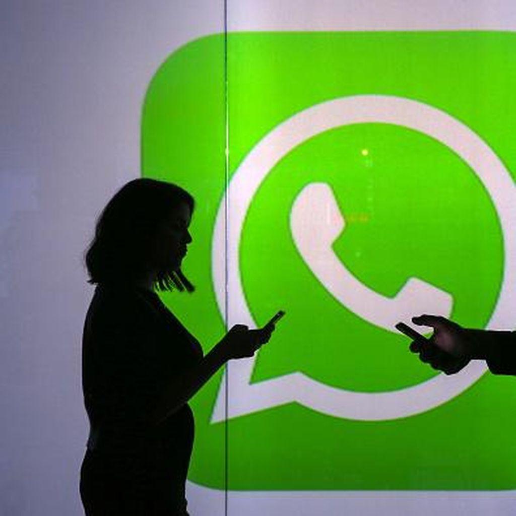 WhatsApp Uji Coba Kirim Teks Bold & Italic