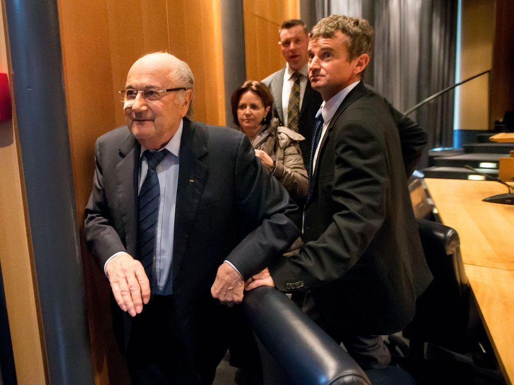 FIFA Tolak Banding Blatter & Platini, tapi Kurangi Hukuman Jadi 6 Tahun