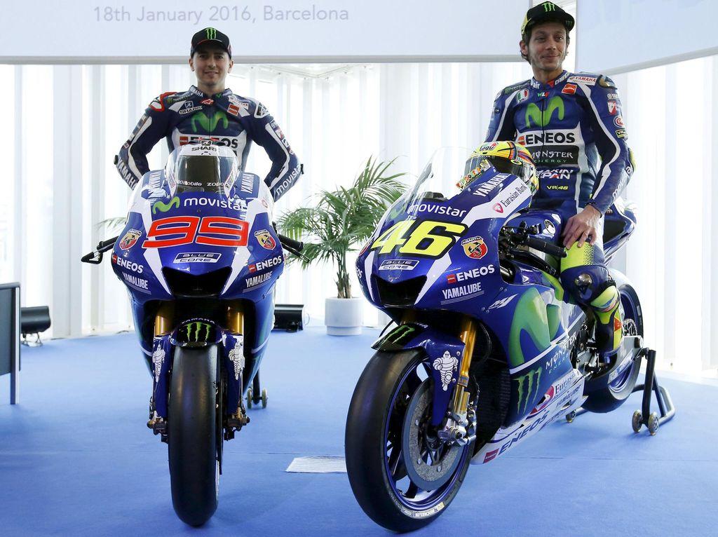 Ini Dia Motor Rossi dan Lorenzo di MotoGP 2016