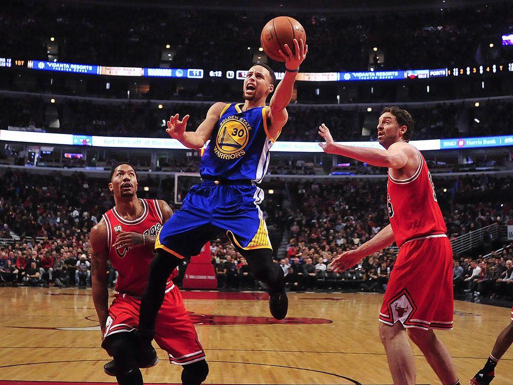 Warriors Jinakkan Bulls, Cavaliers Benamkan Nets