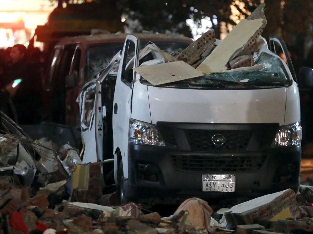 Ledakan Bom Tewaskan Enam Orang di Mesir