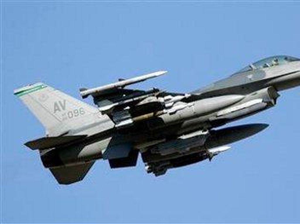 Jet Tempur F-16 AS Jatuh Dekat Las Vegas, Ketiga dalam 2 Hari