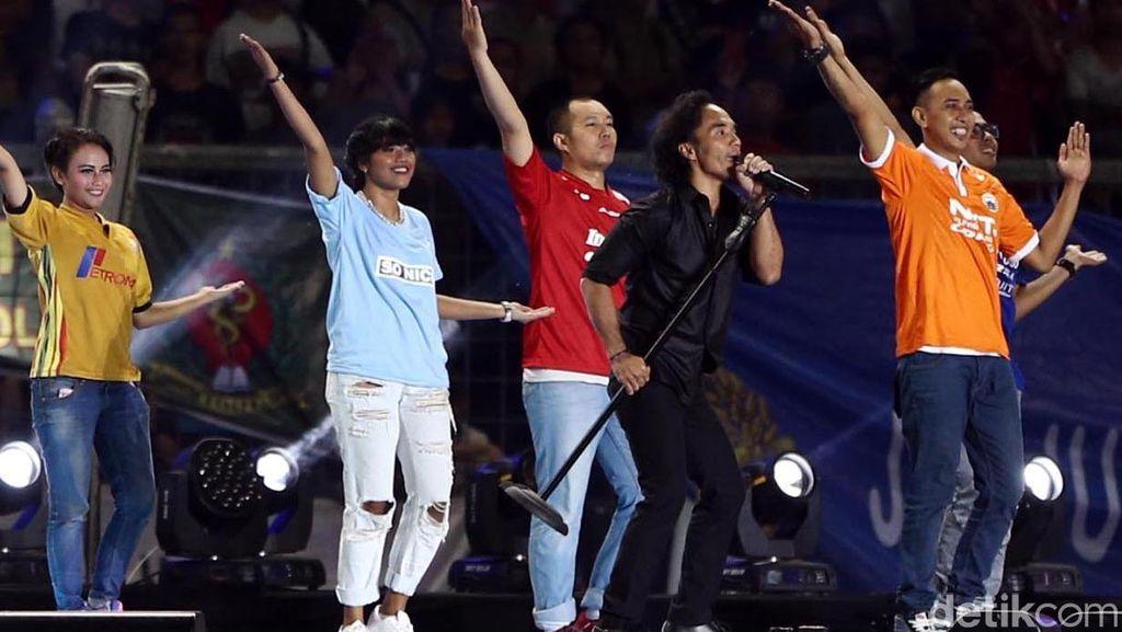 Slank dan Noah Meriahkan Final Piala Jenderal Sudirman