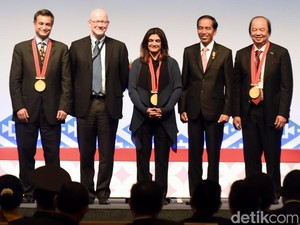 Jokowi Hadiri Konferensi Internasional Keluarga Berencana
