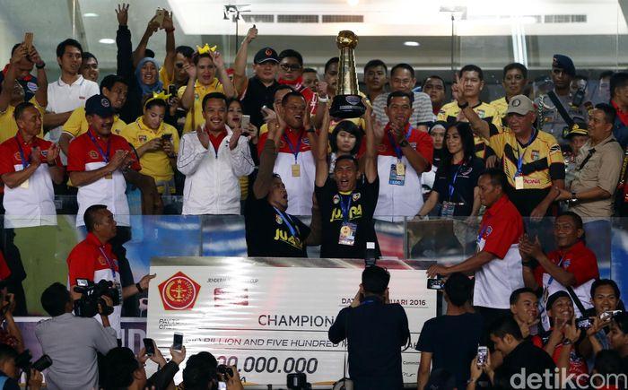 Mitra Kukar menjadi juara Piala Jenderal Sudirman.