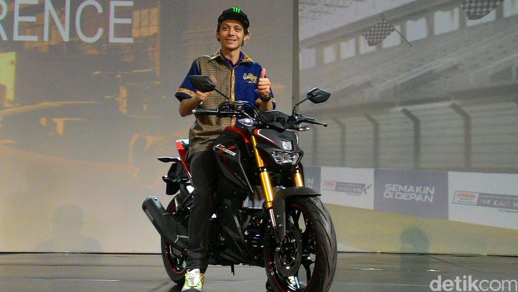 Kenapa Valentino Rossi Kalau Mampir di Indonesia Cuma Sebentar?