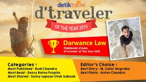 Sambutlah, Pemenang dTraveler of The Year 2015!