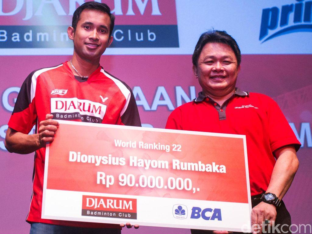 Djarum Foundation Beri Penghargaan Atlet Berprestasi