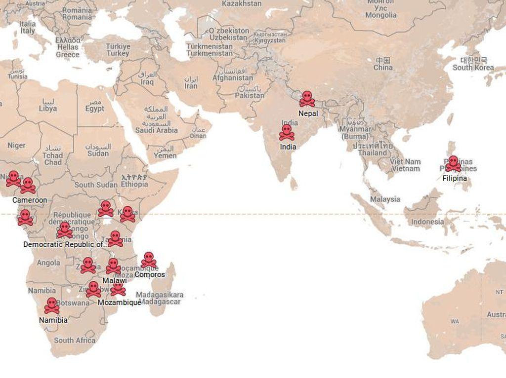 Tingkat Perkosaan di Banyak Negara Berhubungan dengan BAB Sembarangan