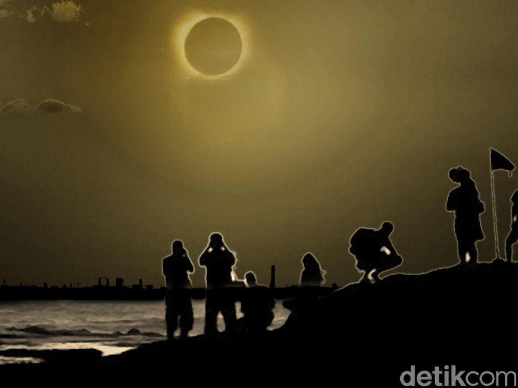 Gerhana Matahari dan Bulan Diprediksi Lintasi Aceh Bulan ini