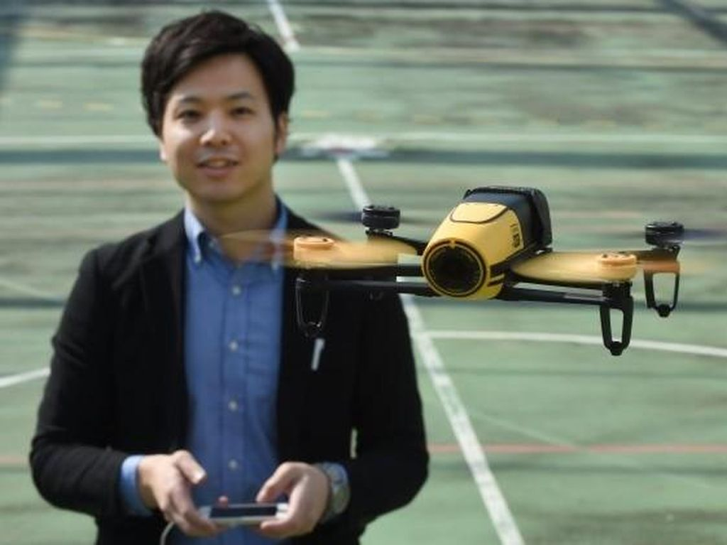 Drone Bantu Temukan Orang Hilang