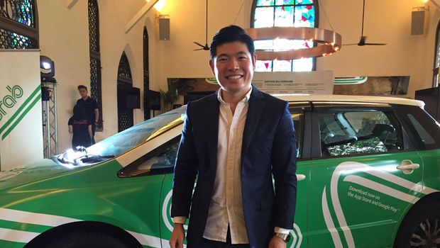 CEO dan pendiri Grab Anthony Tan