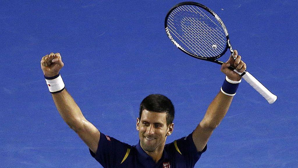 Kalahkan Federer, Djokovic ke Final Australia Terbuka