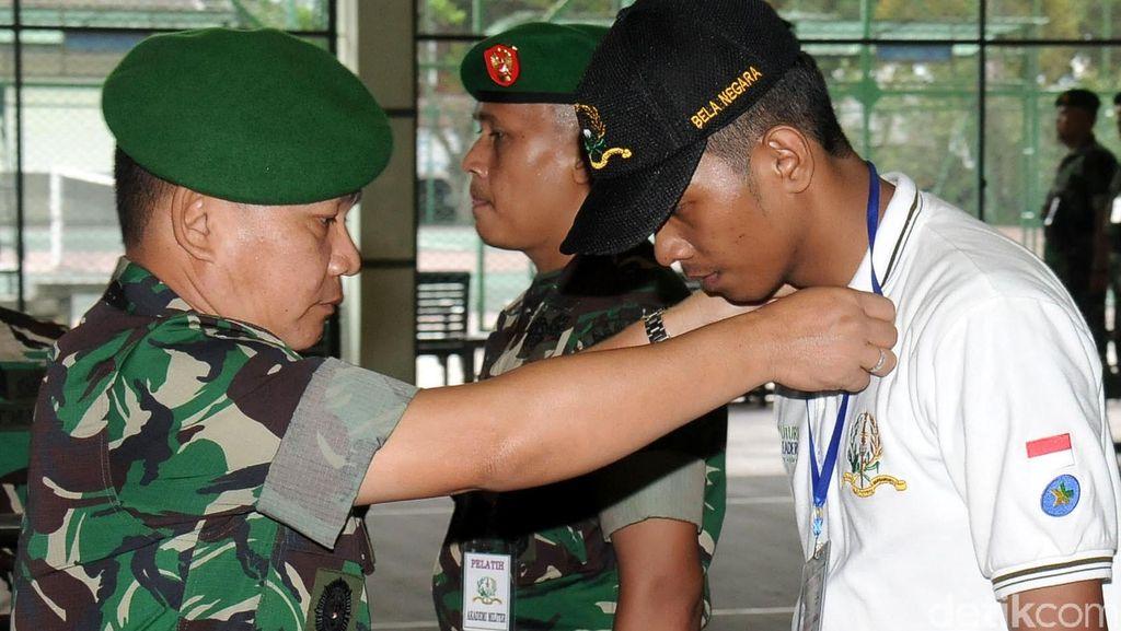 115 Mahasiswa Ikuti Pelatihan Bela Negara