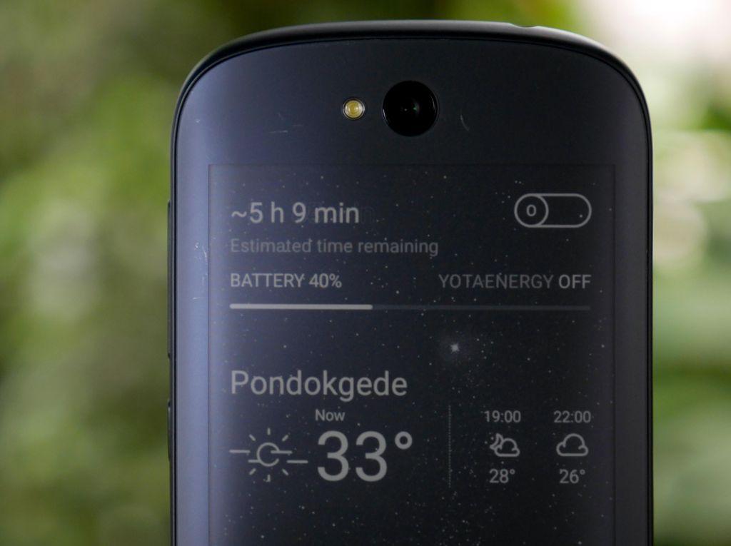 Yotaphone 2: Ponsel Dua Wajah yang Tak Biasa