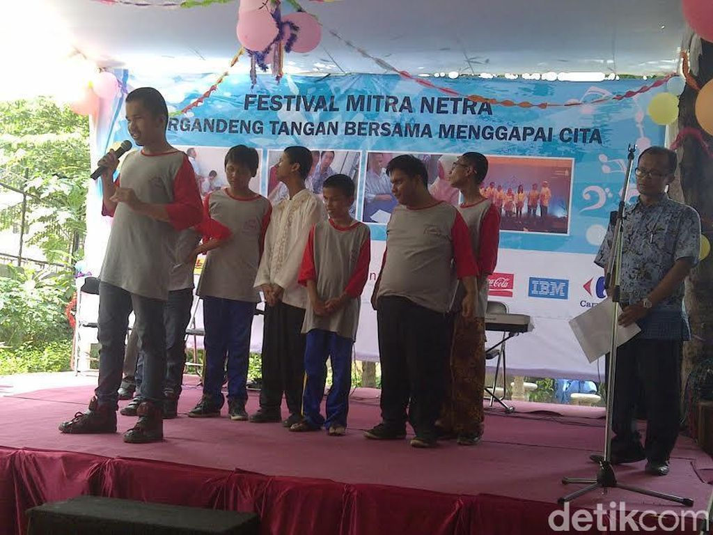 70 Siswa Tunanetra Unjuk Kebolehan di Festival Mitra Netra