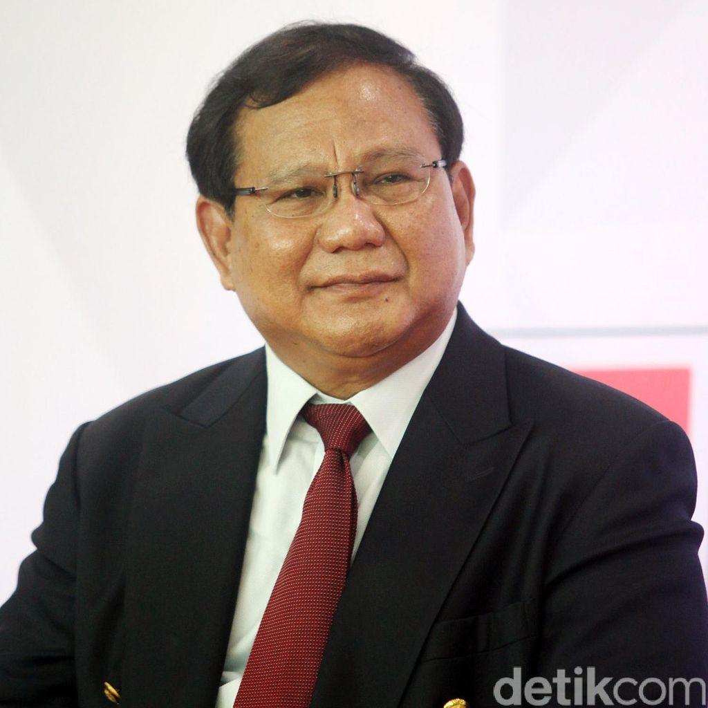 Canda Prabowo Subianto Soal Aksi 2 Desember