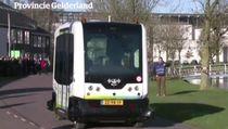 Bus Otonom Mulai Ujicoba di Belanda