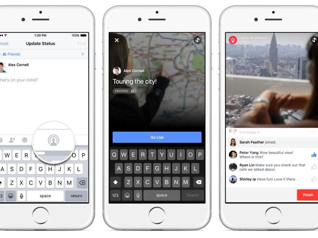 Facebook Kejar Google, Tancap Gas Pepet YouTube
