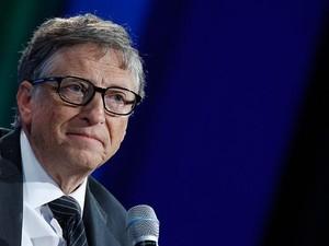 Bill Gates Sambangi Donald Trump