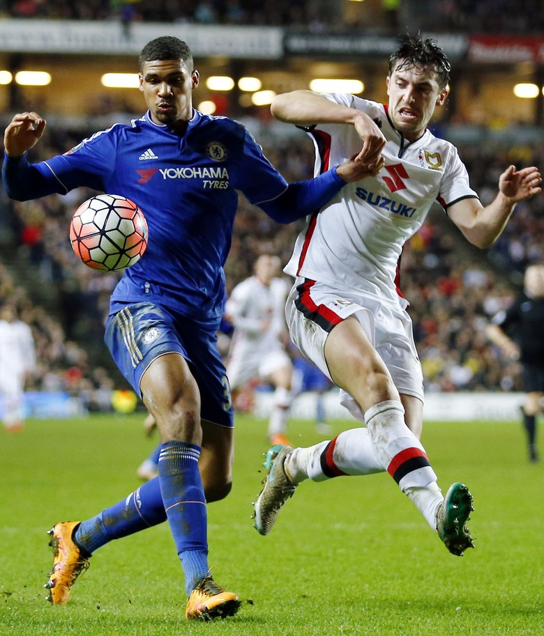 Chelsea Gilas MK Dons 5-1