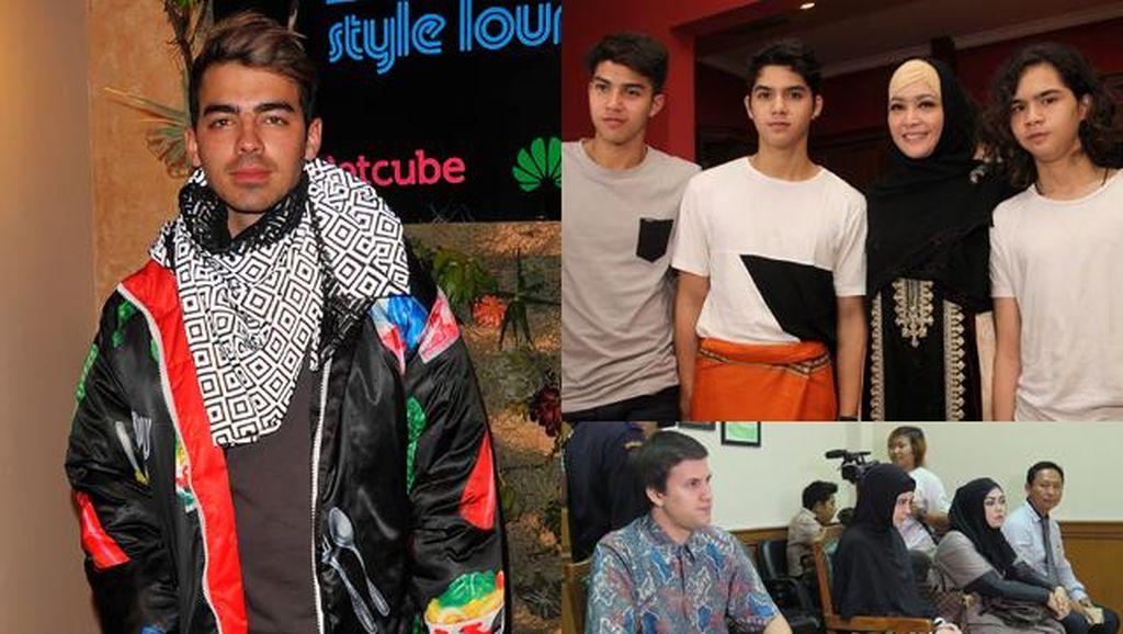 10 Foto Terheboh: Joe Jonas, Maia dan Al, El, Dul hingga Risty-Stuart