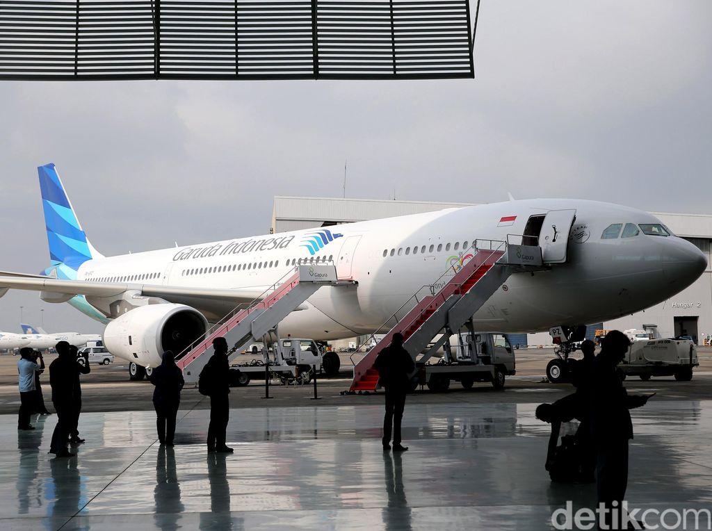 Garuda Bebaskan Biaya Reschedule dan Refund buat Penumpang yang Kena Macet