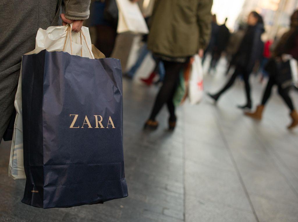 Zara Ganti Logo Baru yang Buat Netizen Kebingungan