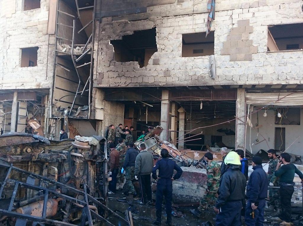 Dua Ledakan Terjadi di Suriah, Satu Orang Tewas