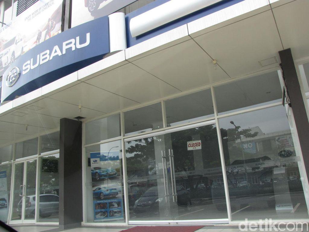 Ratusan Mobil Subaru Disita Pajak