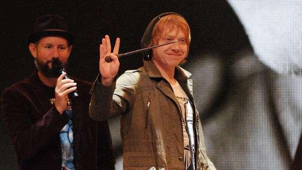 Potterhead, Ron dan Ginny Weasley Reunian!